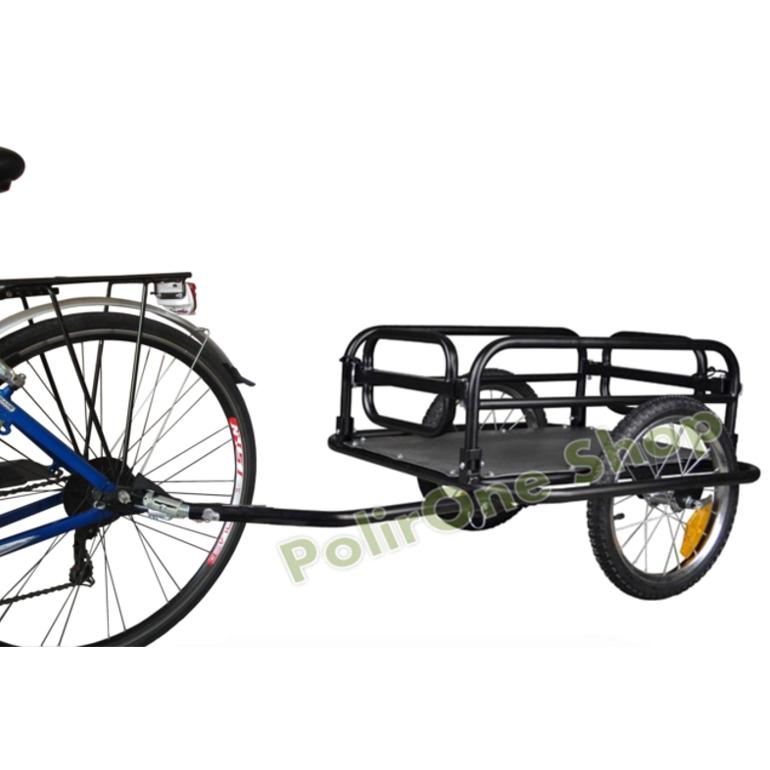 Rimorchio bici bicicletta per trasporto cane trasportino carrello da carrellino  eBay