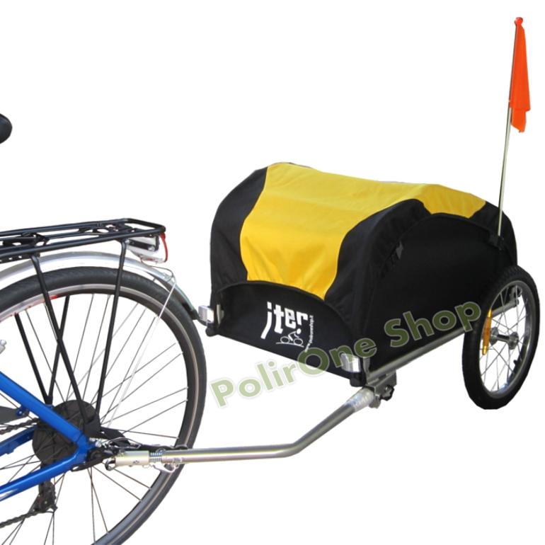 Remolque de bici bicicleta para perro perros carro carrito - Carrello per bici porta cani ...