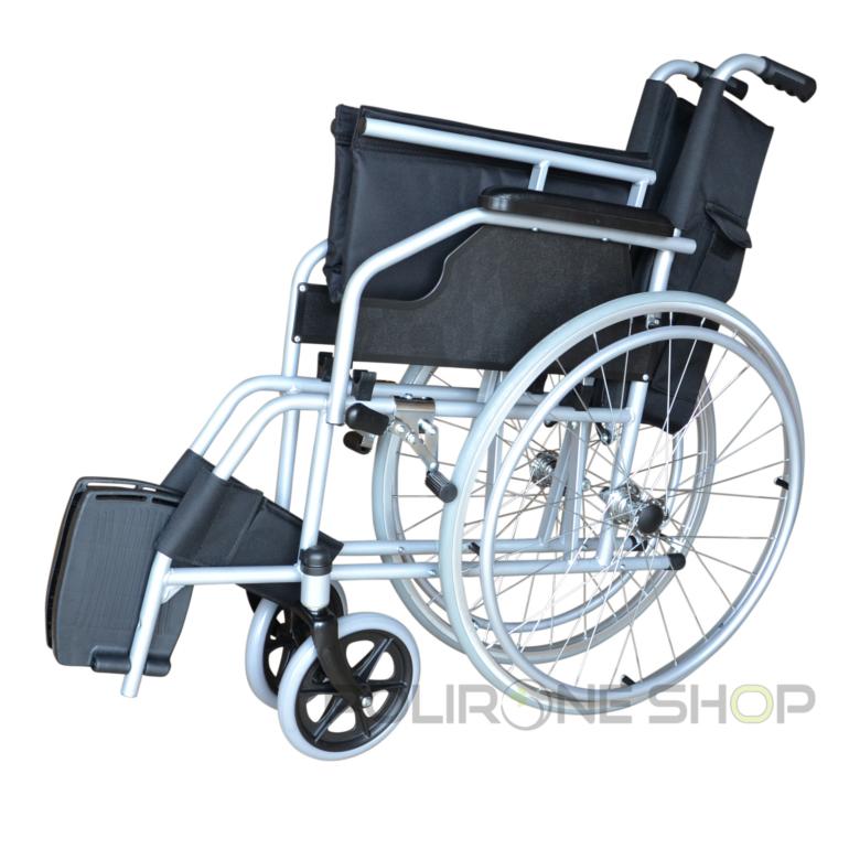 Movis sedia a rotelle ad autospinta pieghevole carrozzina for Sedia a rotelle doppia crociera