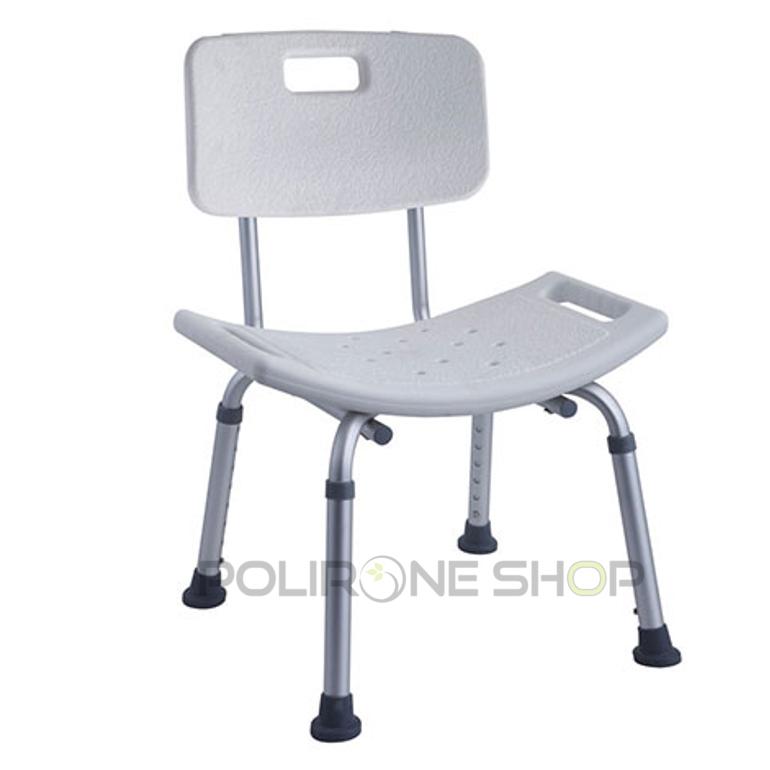 Rodi sgabello sedia per doccia bagno anziani disabili - Sedia da bagno ...